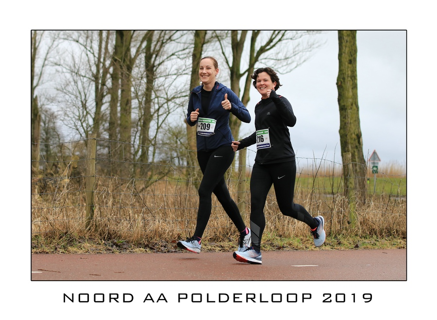 Collage Noord AA Polderloop